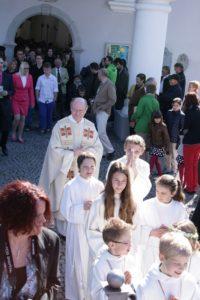 Erstkommunion @ Pfarrkirche Schlins   Schlins   Vorarlberg   Österreich
